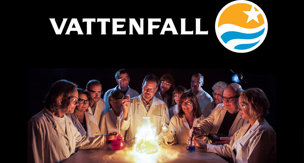 MAKING OF / VATTENFALL MAGAZINE / PRESENTING THE  LABORATORY TEAM