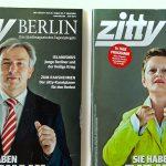 ZITTY / COVER STORY / 2011 / KLAUS WOWEREIT / RENATE KÜNAST
