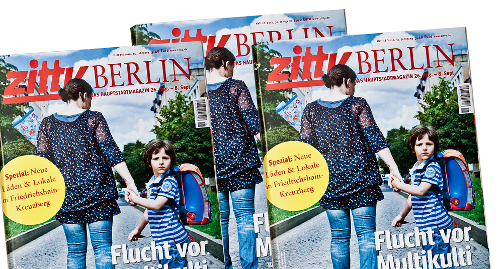 ZITTY / COVER STORY – ANGST VOR MULTIKULTI